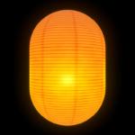 提灯光の表現!中からロウソクが光っているように見せる方法【Mayaモデリング】
